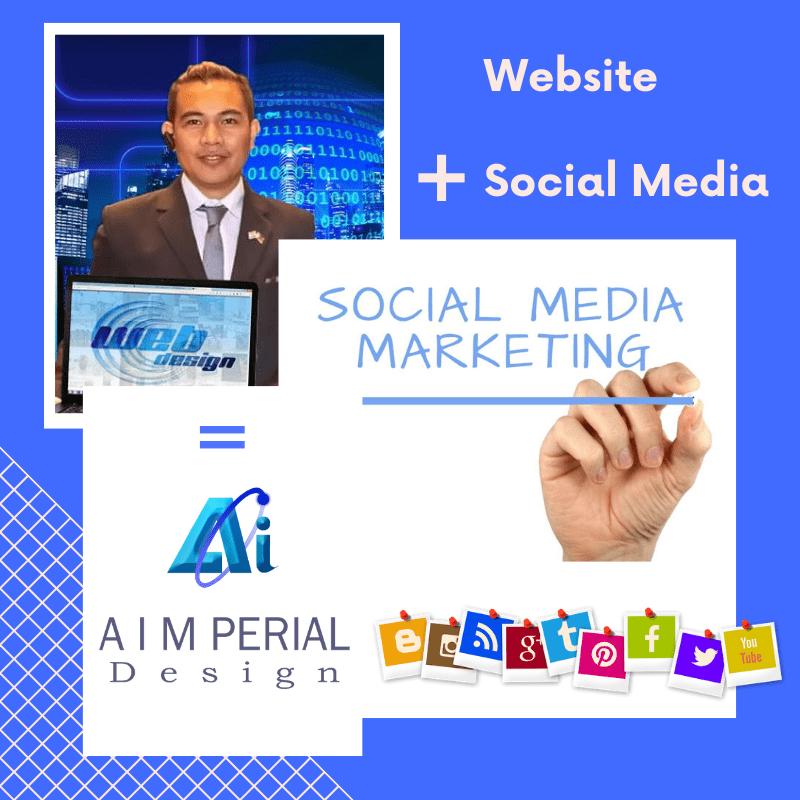 Website plus Social Media Marketing