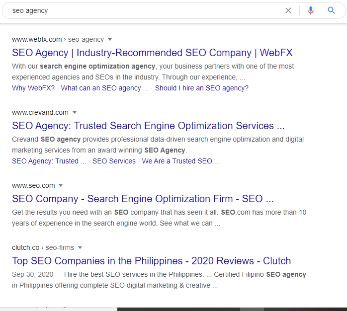 What is SEO? The organic result of search engines